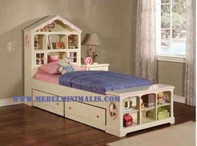 Singgle Bed Minimalis Anak
