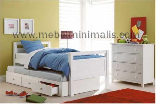 Tempat Tidur Anak Perempuan MM 381