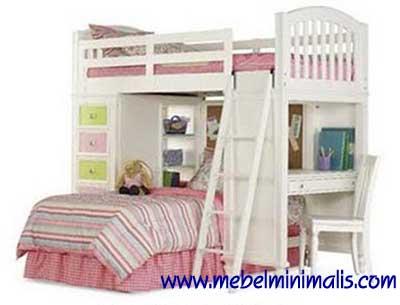 Tempat Tidur Minimalis Anak lengkap