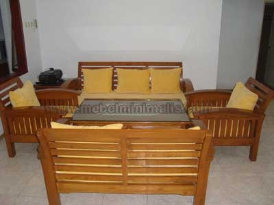 Furniture Kayu Kursi Tamu Jati 3211