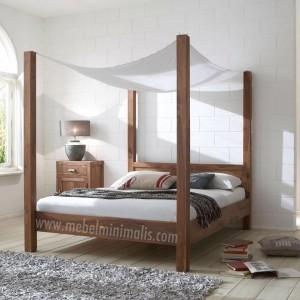 Mebel Jati Tempat Tidur Kanopi MM 311