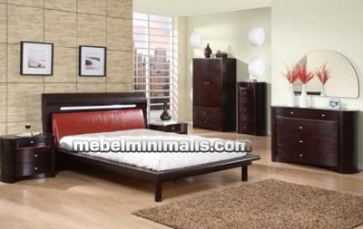 Furniture Rumah Minimalis Mebel Set Kamar Tidur MM 044