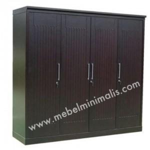 Lemari Pakaian Minimalis 4 Pintu MM101