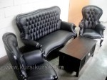 Black Tail Set Kursi Tamu Sofa Modern