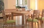 Contoh Set Kursi Meja Makan Minimalis Jepara KKS 107