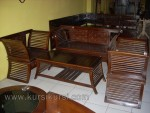 Furniture Dowel Jati Set Kursi Tamu Minimalis