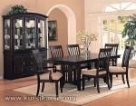 Furniture Kayu Jati Set Kursi Meja Makan Minimalis KKS 118