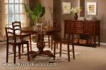 Furniture Kursi Set Kursi Meja Makan Minimalis Jati KKS 124