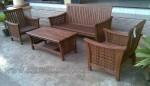 Furniture Minimalis Jati Set Kursi Tamu Ketupat Ukir Jepara