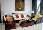 Furniture Minimalis Set Kursi Tamu Kayu Dan Busa