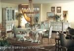 Furniture Ruang Makan Set Kursi Meja Makan Duco Putih Jepara KKS 129
