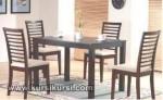Furniture Set Kursi Meja Makan Minimalis Jati Jepara KKS 130