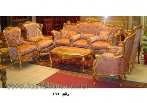 Gallery Furniture Sofa Set Kursi Tamu Ukir Mewah