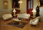 Harga Set Sofa Kursi Tamu Mewah Finishing Emas