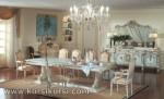 Italian Furniture Kursi Set Meja Makan Duco Jepara KKS 137