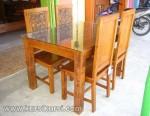 Jepara Furniture Set Kursi Makan Kayu Jati KKS 140