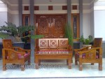 Jokowi Ukir Set Kursi Tamu Minimalis Jati