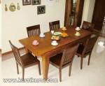 Jual Set Kursi Makan Minimalis Kayu Jati KKS 148
