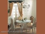 Kursi Duco Putih Set Kursi Meja Makan Jepara KKS 155