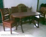 Kursi Kartini Set Kursi Meja Makan Model Ukir KKS 156