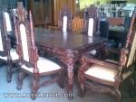Kursi Raja Set Kursi Meja Makan Furniture Jepara KKS 161