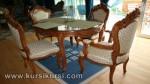 Kursi Sofa Set Kursi Meja Makan Jepara Jati KKS 164