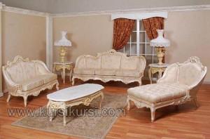 Living Room Set Lounjer Kursi Sofa