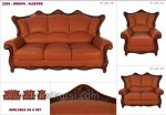 Mebel Sofa Brown Set Kursi Tamu Jati