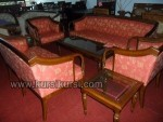 Melamin Furniture Set Kursi Tamu Sofa Seraton Jati