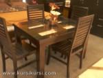 Model Mebel Modern Set Kursi Meja Makan Minimalis KKS 220