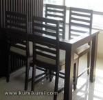 Model Set Kursi Meja Makan Minimalis Jepara KKS 225