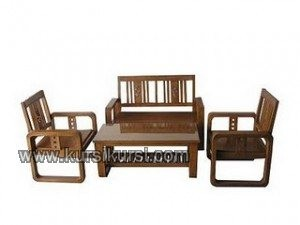 Model Set Kursi Tamu Minimalis Kotak