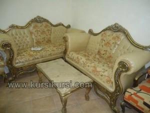 Pilihan Furniture Kayu Jati Set Kursi Tamu Sofa