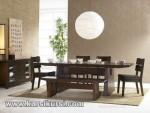 Ruang Makan Set Kursi Meja Makan Minimalis Kayu Jepara KKS 244