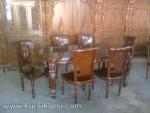 Salina Set Kursi Meja Makan Kayu Jati KKS 245