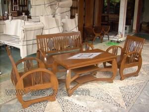 Sedan Furniture Kayu Jati Minimalis