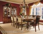 Set Kursi Makan Desain Klasik Furniture KKS 254