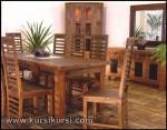 Set Kursi Makan Jari Jari Samping KKS 264