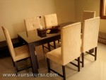 Set Kursi Makan Jepara Minimalis Jok KKS 267