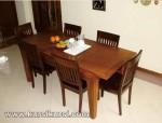 Set Kursi Makan Minimalis Jepara Jati KKS 301