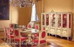 Set Kursi Makan Model Keluar Besar Furniture Kayu KKS 315