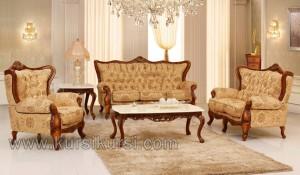 Set Kursi Sofa Tamu Jepara Klasik Mebel
