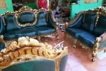 Set Kursi Tamu Sofa Ganesa Kerang Kayu Jati