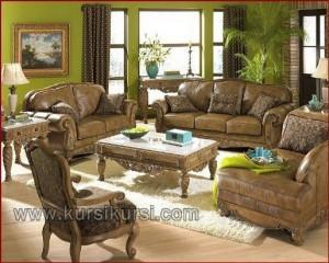 Sofa Mewah Set Kursi Tamu Jepara