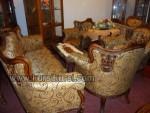Sofa Set Kursi Tamu Ukir kayu Jepara Motif Losteran