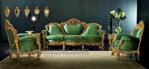 Sofa Set Ukir Relief Kayu Jepara