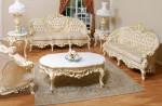 Sofa Tamu Duco Putih Jepara