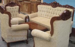 Sofa Tamu Set Kursi Tamu Gajah Kerang