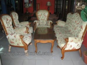 Sofa Ukir Set Kursi Tamu Kayu Jati Jepara