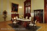 Victorian Dining Room Salak Set Kursi Meja Makan KKS 474